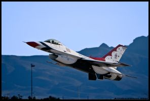 Nellis thunderbirds 15 by AirshowDave