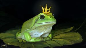 King Frog by Nemca
