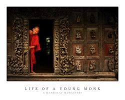 Life of a Young Monk by waiaung