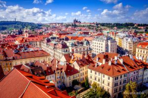 Roofs of Prague by olideb08