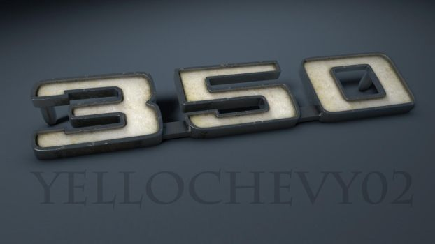 69' Camaro emblem 350 by yellochevy02