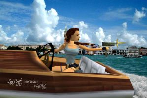 Lara Croft loves Venice by LaraHCroft91