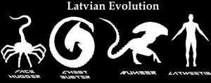 Alien Evolution in Latvia by AmDDRed