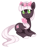 Pony Adoptable Auction ~ Cherry Blossom (CLOSED) by tsurime