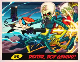 Mars Attacks Dexter's Laboratory! by dyemooch