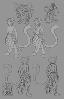 February - unfinished ref by Skudde-OCs