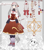 .:Elven Princess:. ADOPTABLE AUCTION : CLOSED by Haru-run