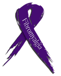 Fibromyalgia Awareness Ribbon by MidknightStarr