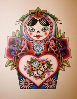 Russian Doll by itchysack