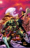 SKAAR (Colors) by VicenteT