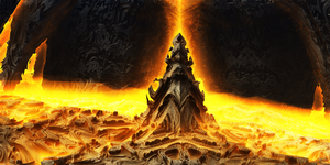Bone tower of flame by KPEKEP