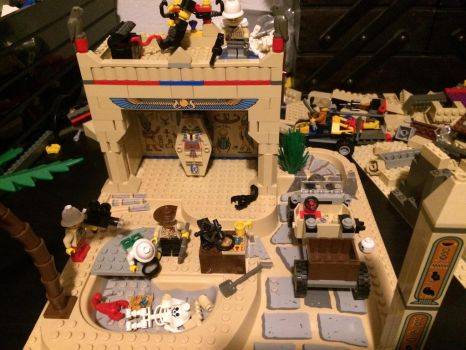 My other egypt lego creation by Enricthepenguin92
