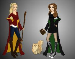 Ameta and Jane Malfoy by Lady-Aneeva