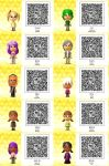 Tomodachi Life-Sonic QR Codes 2 by TheSingettesRBack