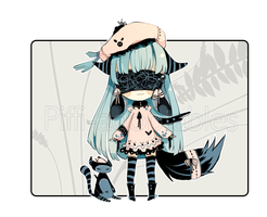 [CLOSED]!! CHARITY ADOPT !! - Blind Lace by Piffi-adoptables