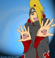 Deidara - Three Tongues by Xpand-Your-Mind