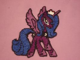 A handmade Luna patch by Theponypatchkid