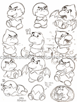 Jr. Troopa Doodles by cmsimeon589