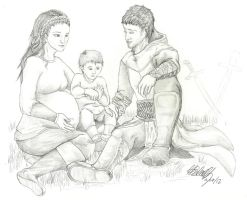Altair's Family by lady-dragonstrike