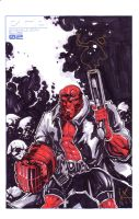 Hellboy Sketch Cover by KomicKarl