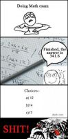 Only in math exams by cosenza987
