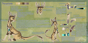 Neurion Reference Sheet by KhanasGhost