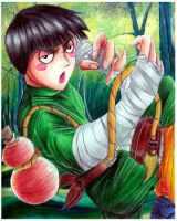 Rock Lee: Drunken Fist Kung Fu by Giosuke