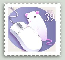 Mouse Stamp by CrazyChucky