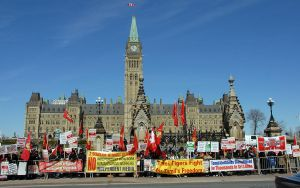 Tamil Demonstration in Ottawa by KeenPhotography