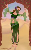 Earth Indian Dancer OC by M-Mannering