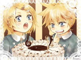 Happy Birthday Rin and Len by Lancha