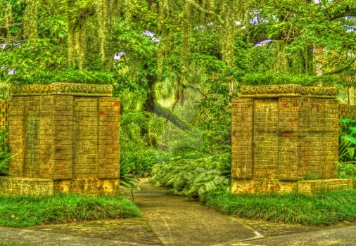 The Entrance by Photography-by-Image