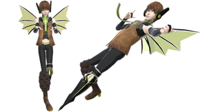 Vocaloid Hiccup +DL by RandomDraggon
