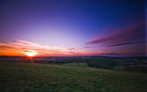 South Downs Twilight by adamlack