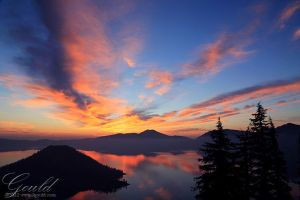 Crater Lake Sunrise by ThisWomanWanders
