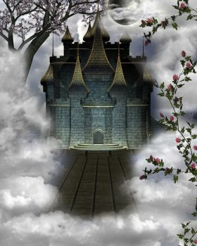 Sky Castle by Moonglowlilly