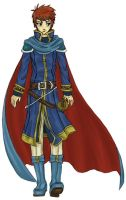 Prince Eliwood by RoseDragonfire