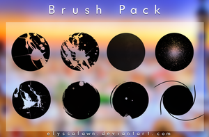 Brush Pack | R O U N D by elyssafawn