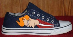 Sneak Peek-- Futurama Footwear by ChumpShoes