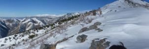 Panorama from Little Black by shymri