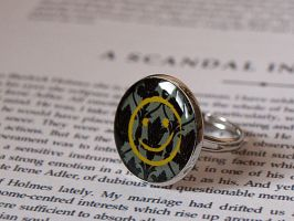 Sherlock - Smiley Face Ring by Pia-CZ