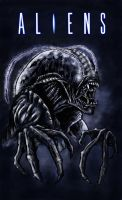 Cockroach Xenomorph by WretchedSpawn2012