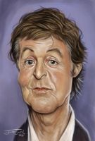 PAUL McCARTNEY by JaumeCullell
