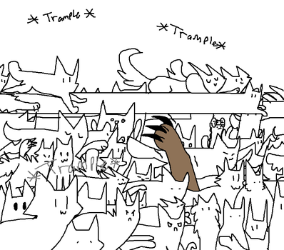 Poor Trampled Turkey by TinyWindowless