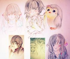 _random anime_ by dr4wing-pencil