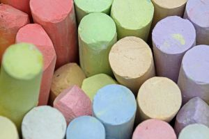 Colored Chalk by GregGregory