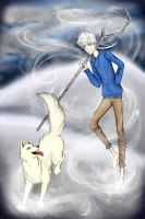 Jack Frost and Frosty by hollowheartlessIzsak