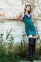 Dress and Boots by alatusphoto