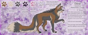 OLD Feral Silver Reference by LadySilvie