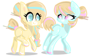 Cheap adoptable ponies #8 [CLOSED] by TheCreativeRey